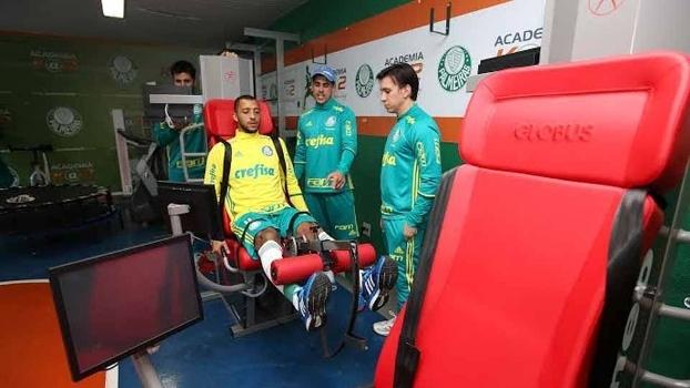 1aee1a88c5 Palmeiras recebe aparelhos de tecnologia moderna para prevenção e  reabilitação de lesões
