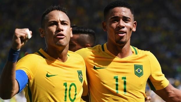 Para Ronaldinho Gaúcho, Gabriel Jesus pode ser o melhor do mundo