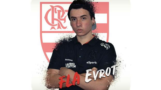 League of Legends: Evrot é o jogador da rota do meio do Flamengo eSports