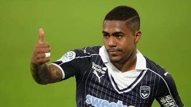 Malcom comemora gol na vitória do Bordeaux sobre ... 8d7c6ebf20b57