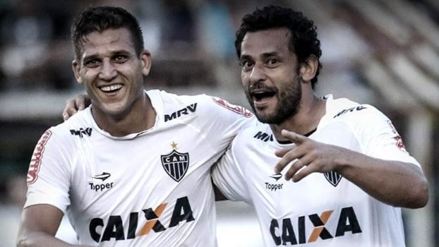 Rafael Moura elogiou o elenco do Atlético-MG