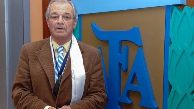 Abel Gneco, chefe da arbitragem da AFA e membro de comitê da Conmebol