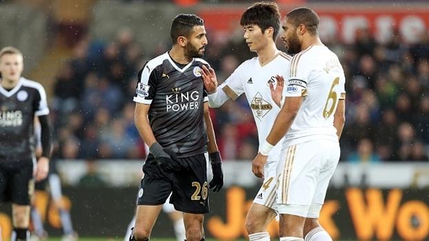Resultado de imagem para Leicester x Swansea
