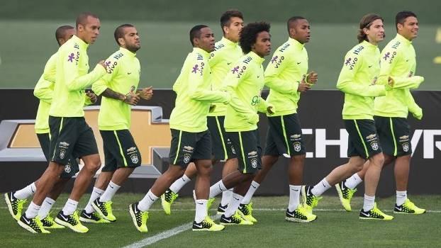 O Brasil enfrenta o Paraguai nas quartas de final da competição