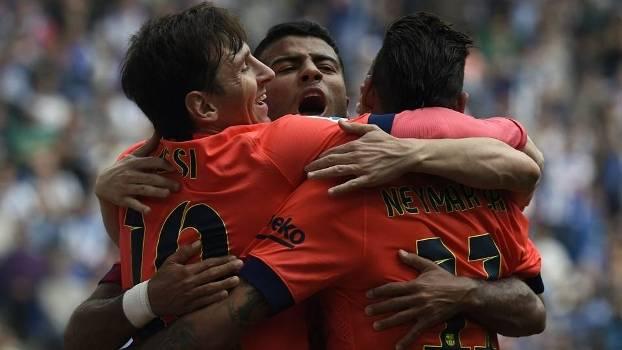 Barcelona tem dois pontos de vantagem na liderança do Espanhol