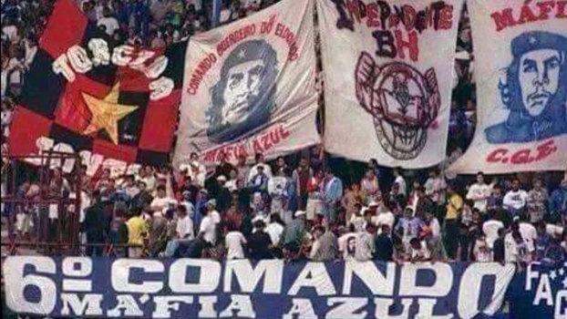 2c46a3bd9e Torcida Jovem do Flamengo e Máfia Azul do Cruzeiro à época unidas