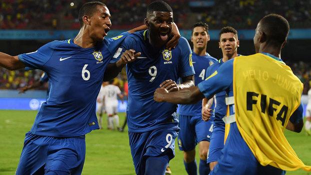 Brasil vence Coreia do Norte e encaminha classificação no Mundial Sub-17