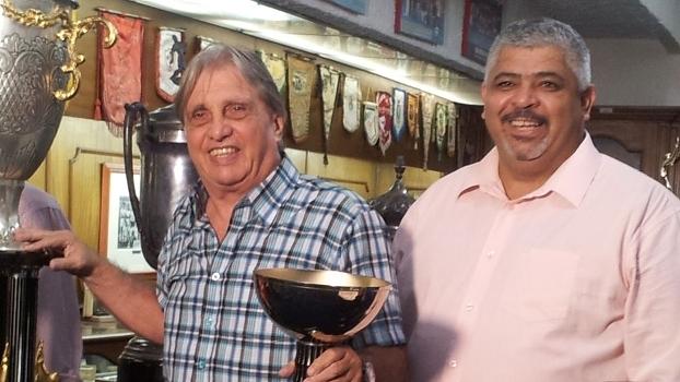 Ecio Pasca e Maninho, campeões da Copa São Paulo de 1991