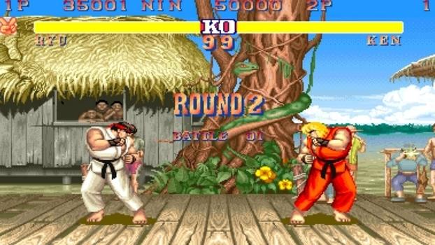 Street Fighter II definiu a base para os jogos de luta a partir de seu lançamento em 1991.