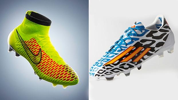 c0a2c17931 Nike e Adidas batalham pelo domínio do mercado de equipamentos de futebol