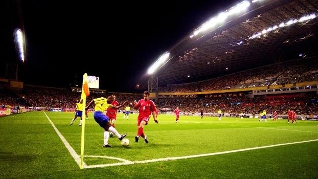 Kleberson Brasil Turquia Semifinal Copa do Mundo 2002 26/06/2002