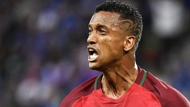 Nani Comemora Gol Portugal Islandia Euro-2016 14/06/2016