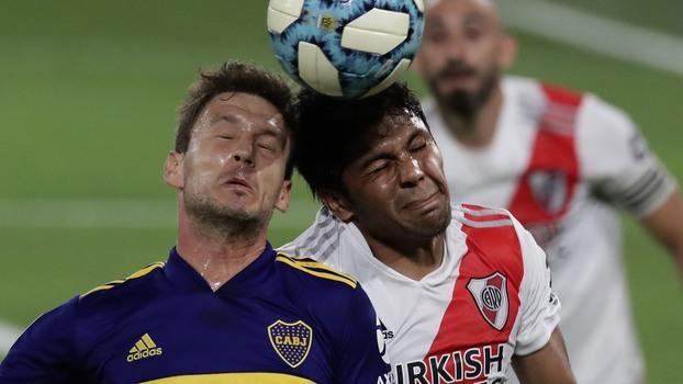 Boca 2 x 2 River: Telespectador teve experiência emocionante no primeiro  Superclássico sem torcida da história!   Blogs - ESPN