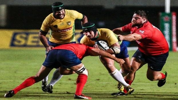 Brasil estreiou com vitória sobre o Chile na Americas Rugby Championship
