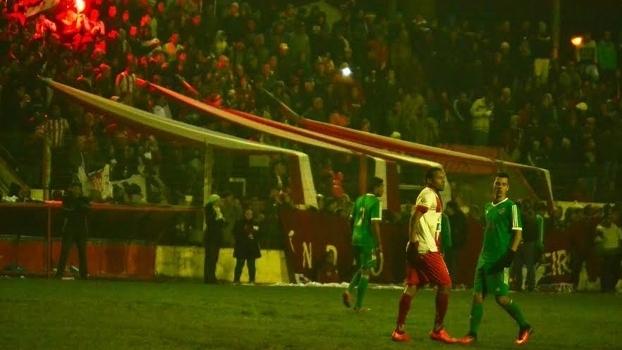 Em Bagé, Guarany e Gaúcho jogaram no estádio Estrela D'Alva lotada