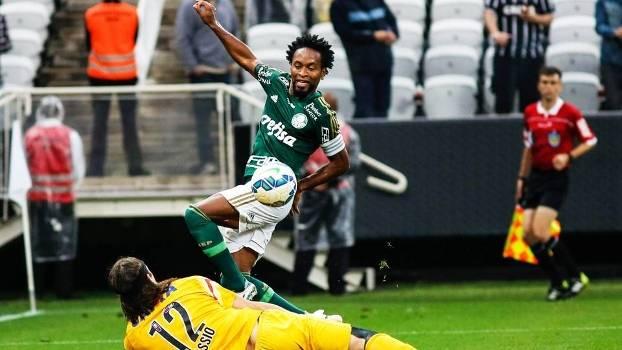 Ze Roberto Palmeiras Corinthians Campeonato Brasileiro 31/05/2015