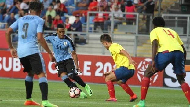 Uruguai perdeu do Equador por 1 a 0