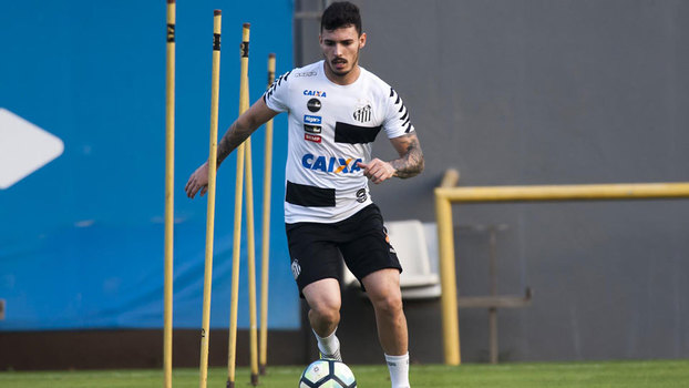 Barrios está fora do jogo entre Grêmio e Santos