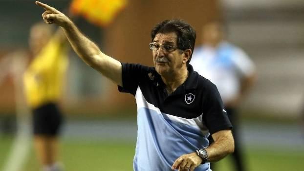 O técnico René Simões gostou do progresso do Botafogo