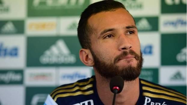 Leandro Pereira tem contrato com o Palmeiras até a metade de 2017