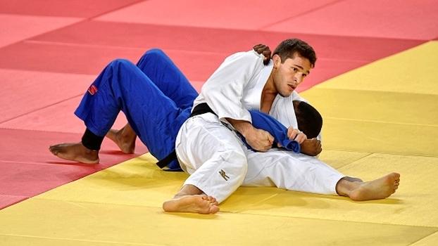 Victor Penalber em ação na Olimpíada do Rio de Janeiro
