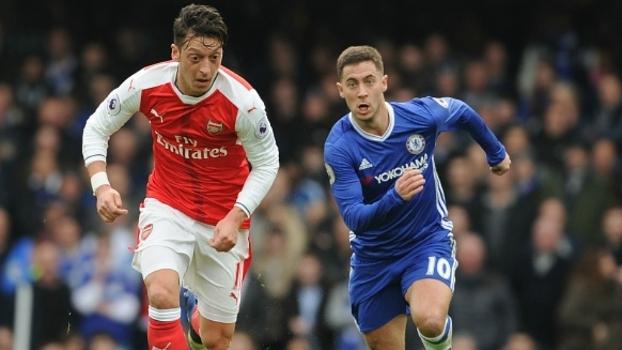 Ozil, Hazard, Arsenal, Chelsea