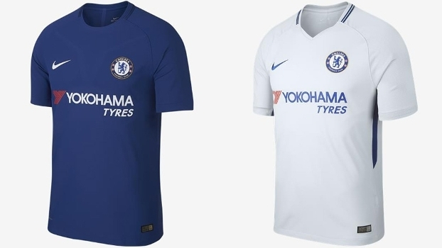 1d29f2935652c Os uniformes já estão à venda na loja online do Chelsea por R  250.