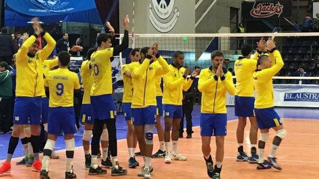 Brasil fecha bem primeira fase do Sul-americano de Vôlei