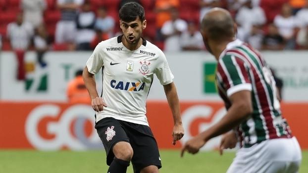 Camacho durante jogo do Corinthians contra o Fluminense