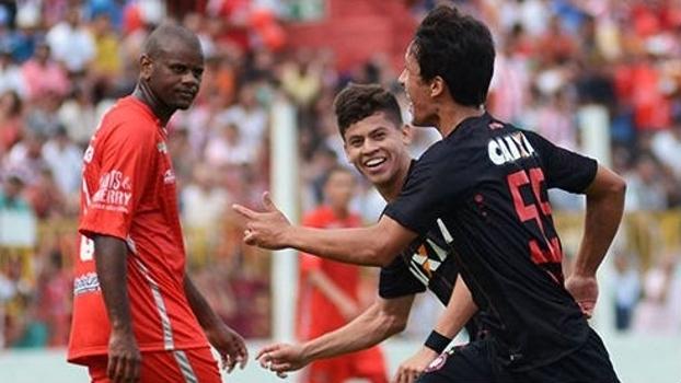Estreante Matheus Anjos foi responsável pelo gol do Atlético, no empate por 1 a 1 com o Rio Branco