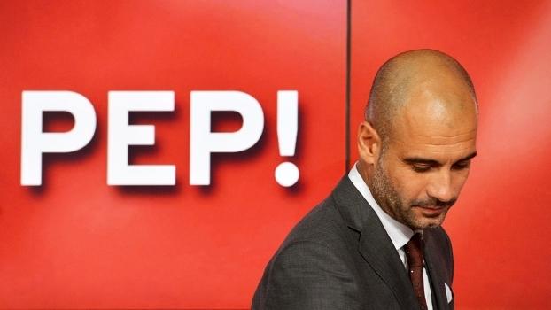 Josep Guardiola Bayern de Munique Apresentação Coletiva 24/06/2013