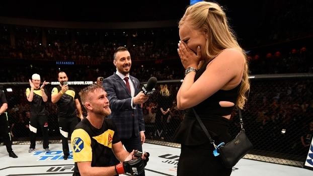 Gustafsson pediu a namorada em casamento. E ouviu sim