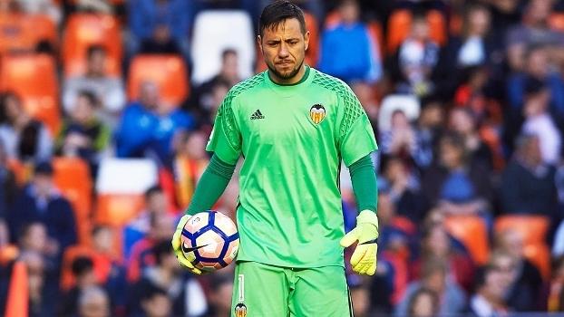 Diego Alves Valencia La Coruna Campeonato Espanhol 02/04/2017