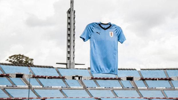 438e57d442 Apresentado no Estádio Centenário de Montevidéu