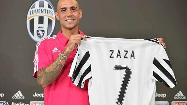 Zaza Juventus Apresentado Futebol Italiano 0cc86bcdf9a22