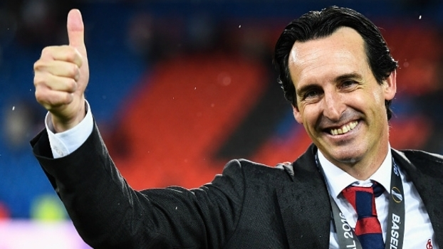 Unai Emery comanda o Paris-Saint Germain