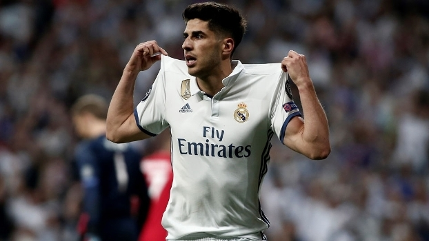 Marco Asensio marcou na vitória do Real Madrid sobre o Bayern de Munique