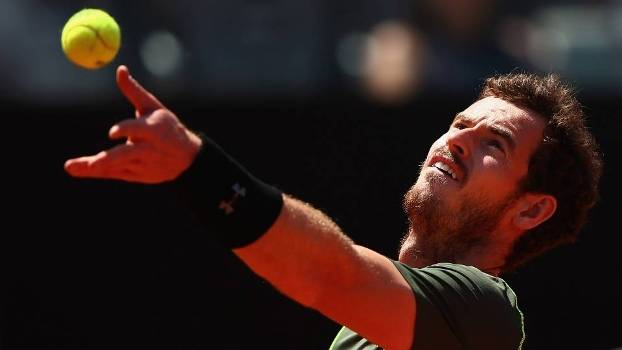 Murray venceu na estreia no Masters 1000 de Roma
