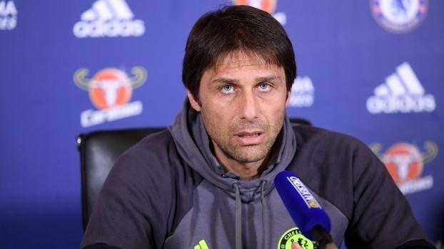 Antonio Conte elogiou os jogadores do City na coletiva desta terça-feira