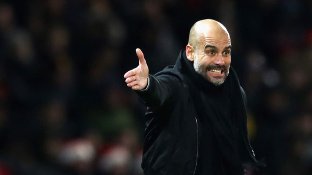 Pep Guardiola, técnico do Manchester City