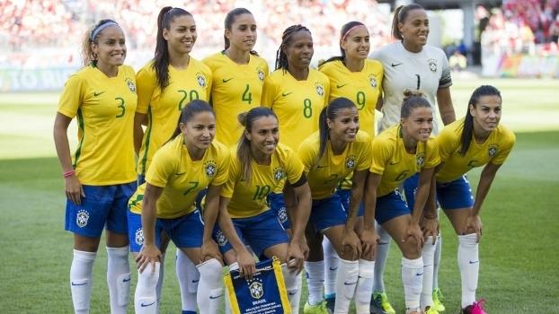 Seleção feminina vence primeiro amistoso contra o Canadá com dois ... fe54ed7d052b9
