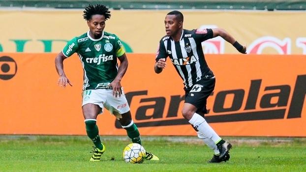 Ze Roberto Palmeiras Robinho Atletico-MG Campeonato Brasileiro 24/07/2016