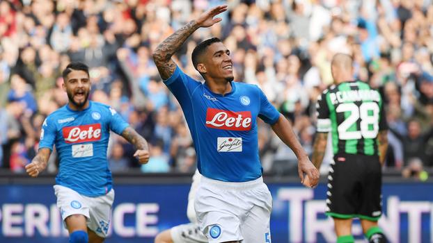 Allan comemora gol marcado contra a equipe do Sassuolo 324ab69f52f53