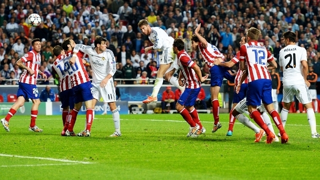 Sergio Ramos Gol Real Madrid Atletico de Madri Final Champions 24/05/2014