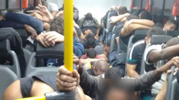 c84fc41360 Torcedores do Botafogo e de outros clubes presos após jogo contra Flamengo