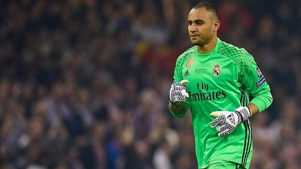 Keylor Navas lesionado outra vez — Real Madrid