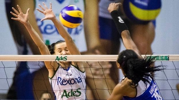 Rexona passa com facilidade pelo Pinheiros e assume a liderança da Superliga feminina