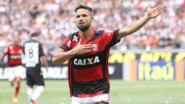 Diego foi um dos destaques do Flamengo no ano