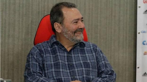 Fred Luz, diretor geral do Flamengo, na Gávea
