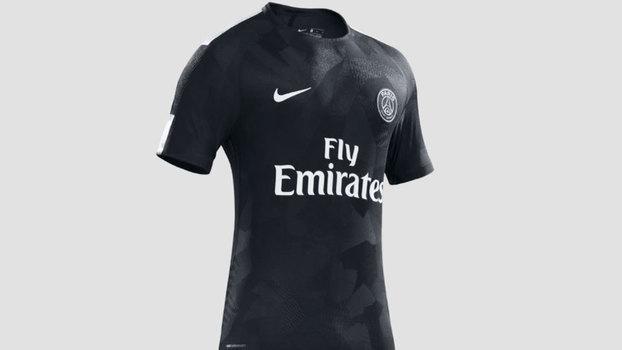 9fc3cf5f9729d O uniforme deve ser usado principalmente na disputa da Uefa Champions  League.